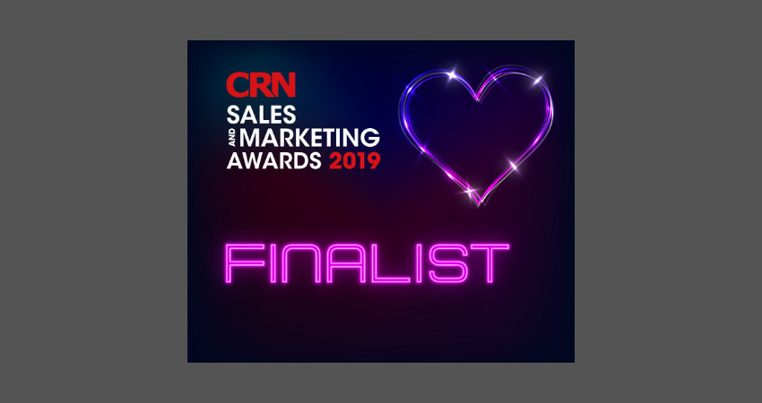 CRN SALES MARKETING AWARDS FINALIST LOGO