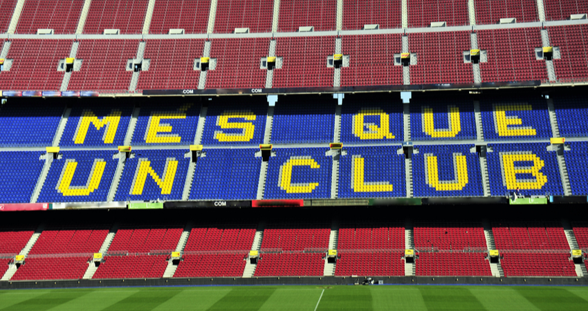 Barcelona Nou Camp Stadium